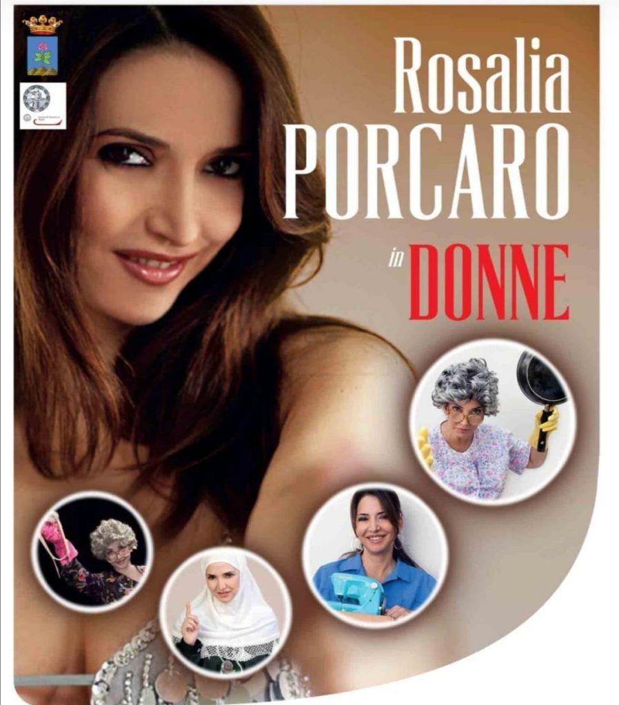Spettacolo di Rosaria Porcaro a Forio d'Ischia